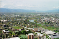 Missoula, the second-largest city in Montana