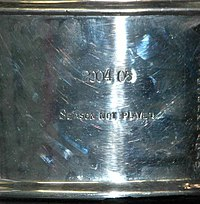 """The Stanley Cup acknowledges the cancelled 2004–05 season with the words, """"2004–05 Season Not Played"""" due to the lockout."""