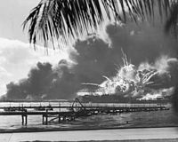 The Japanese attack on Pearl Harbor in 1941 was the primary event that caused the United States to enter World War II.