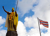 Kamehameha I conquered the Hawaiian Islands and established a unified monarchy across the archipelago.