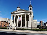 Baltimore Basilica, the first cathedral built in the U.S.