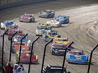 The field prior to the start of the 2006 Prelude to the Dream