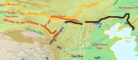 The Great Wall of the Han is the longest of all walls, from Mamitu near Yumenguan to Liaodong