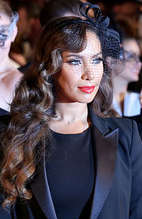 Lewis at the 2014 Life Ball in Vienna