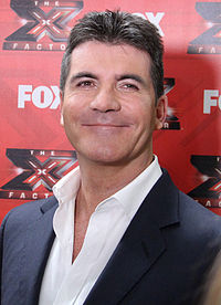 Simon Cowell (pictured) served as Lewis's mentor while on the third series of The X Factor
