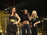 The third line-up of the Sugababes