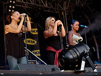 Second Sugababes line-up in May 2005