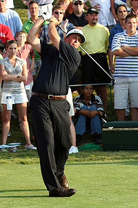 Phil Mickelson, three-time Masters Champion in 2004, 2006, and 2010