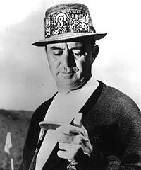 Sam Snead, three-time Masters Champion in 1949, 1952, 1954