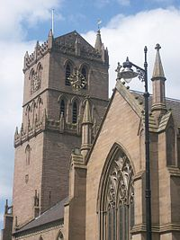 St Mary's Tower, oldest building in Dundee, dating to late 15th century