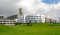 Ninewells Hospital, one of the largest employers in the Dundee area