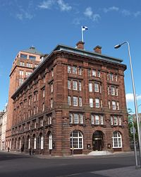 Dundee Headquarters of DC Thomson & Co.
