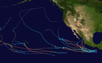 List of Category 5 Pacific hurricanes