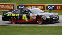 The No. 4 driven by Landon Cassill at Road America in 2013