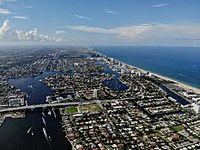 Aerial photo of Fort Lauderdale.