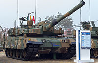 The South Korean-developed K2 Black Panther built by Hyundai Rotem