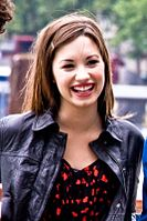 Lovato at the South Bank, London in September 2008
