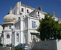 Western Pavilion in Brighton, 1828, designed by Amon Henry Wilds as his own home