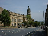 The Old Building at Bradford College founded in 1832