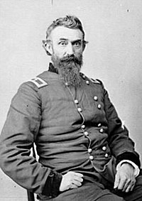 <center>Brig. Gen. Nathan Kimball, wounded</center>