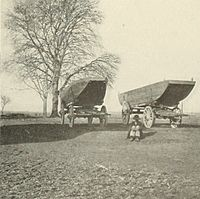 Union Army pontoon boats mobilized for deployment