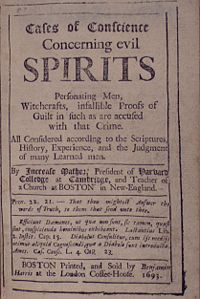 Concerning Evil Spirits (Boston, 1693) by Increase Mather