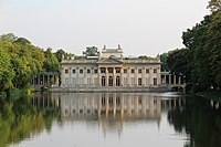 Łazienki Palace, also referred to as the Palace on the Isle
