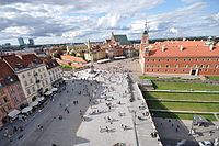 Castle Square with the Royal Castle and Sigismund's Column