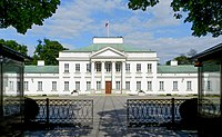 Belweder Palace, official seat of the President
