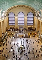 The main concourse of Grand Central Terminal, which opened in 1913.