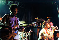 Bad Brains at the old Nightclub 9:30 in 1983.