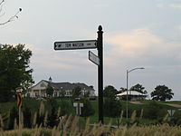 Tom Watson Parkway at the National Golf Club in Parkville
