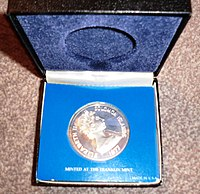 The Five Dollar Proof Coin