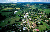 The village of Burrawang in New South Wales, Australia