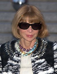 Wintour at the Vanity Fair party for the 2010 Tribeca Film Festival