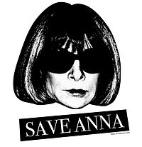 """""""Save Anna"""" logo created in response to retirement rumours"""