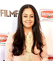 List of awards and nominations received by Jyothika