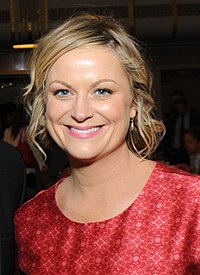 The concept for Parks and Recreation came together only after producers learned Amy Poehler (pictured) would be available to play the protagonist.