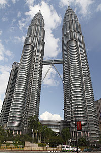The Petronas Towers remain the tallest twin towers in the world.