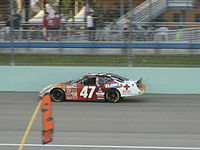 Bires during the 2007 Ford 300