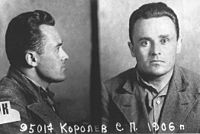 Sergei Korolev, the father of the Soviet space program, shortly after his arrest during Stalin's Great Terror