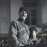 Svaneti man in Mestia, Georgian SSR, 1929