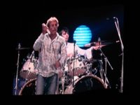Starkey with Roger Daltrey of The Who in concert