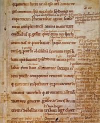 A facsimile of Gesta Danorum by Saxo Grammaticus, which contains the legend of Amleth