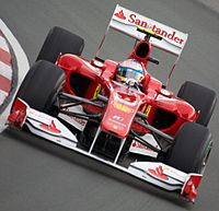 Fernando Alonso narrowly missed out on the drivers' title
