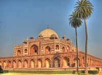 Humayun's Tomb, where the remains of Dara Shikoh were interred in an unidentified grave.