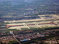 Terminal 3 of Beijing Capital International Airport is the 2nd-largest airport terminal in the world.