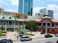 The Shops at Mary Brickell Village is a popular dining and shopping destination in Brickell.