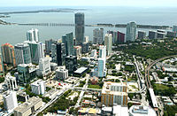 Lower Brickell before recent construction boom