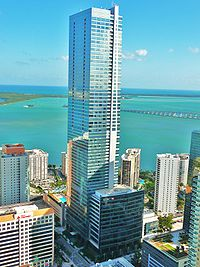Florida's previous tallest building, the Four Seasons Hotel and Tower, is in Brickell.